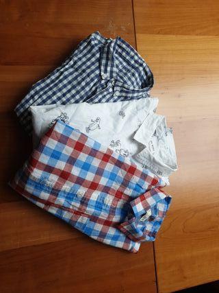 3 camisas chico