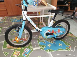 """ve dos bici b-twin peques 14"""""""