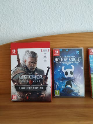 Witcher y hollow knight