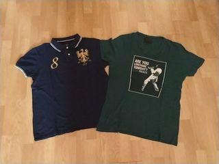2 Camisetas Zara Man