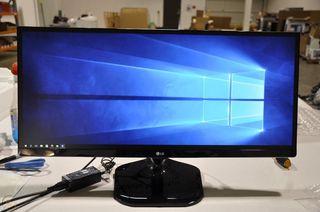 Monitor LG Ultra-panorámico 29 Pulgadas 2560x1080