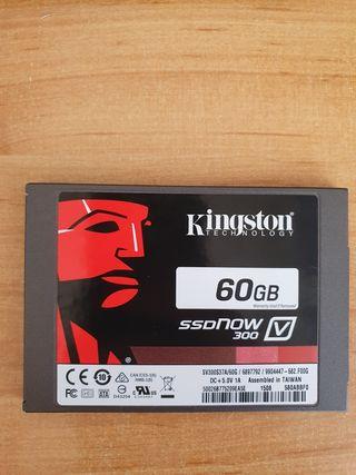 Disco duro SSD 60 Gb Kingston