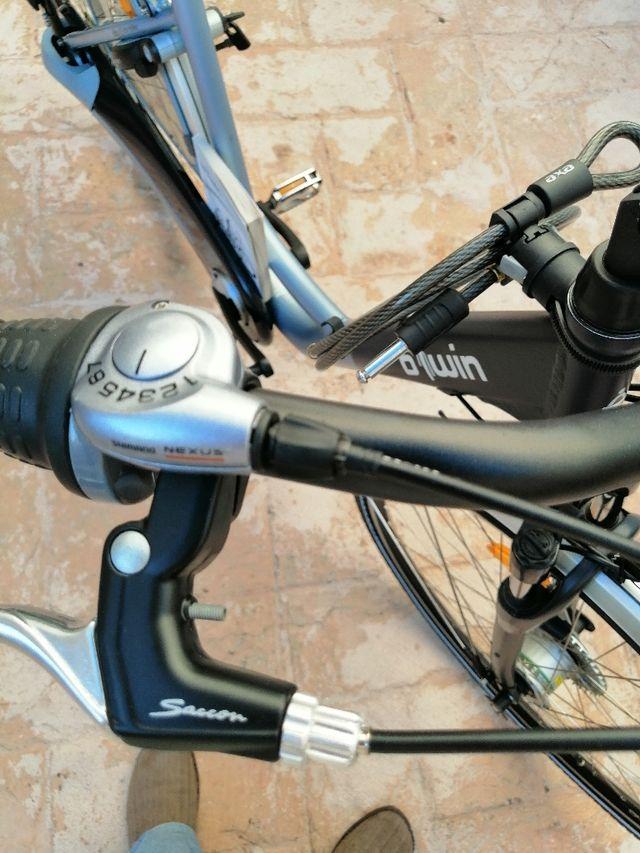 bicicleta de pase nueva