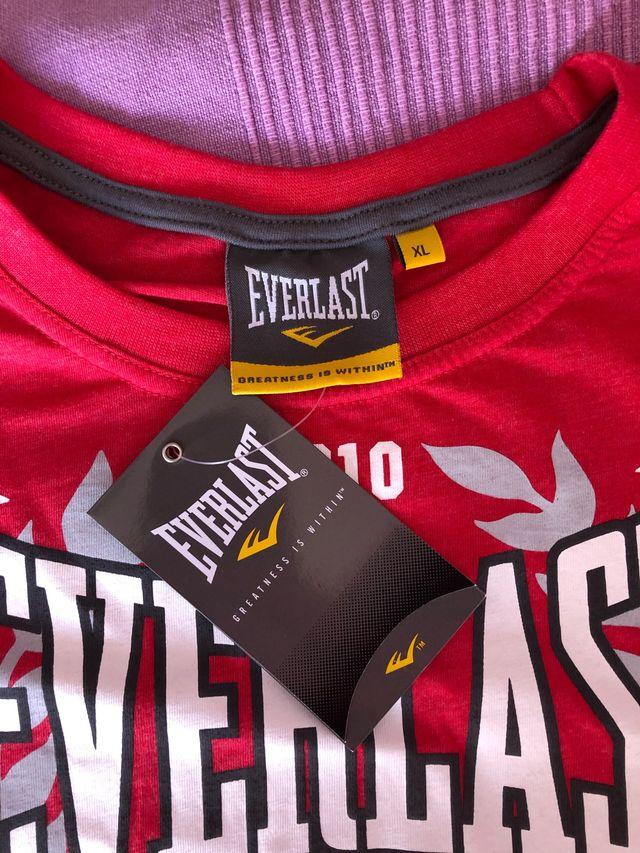 Camiseta Everlast Nueva