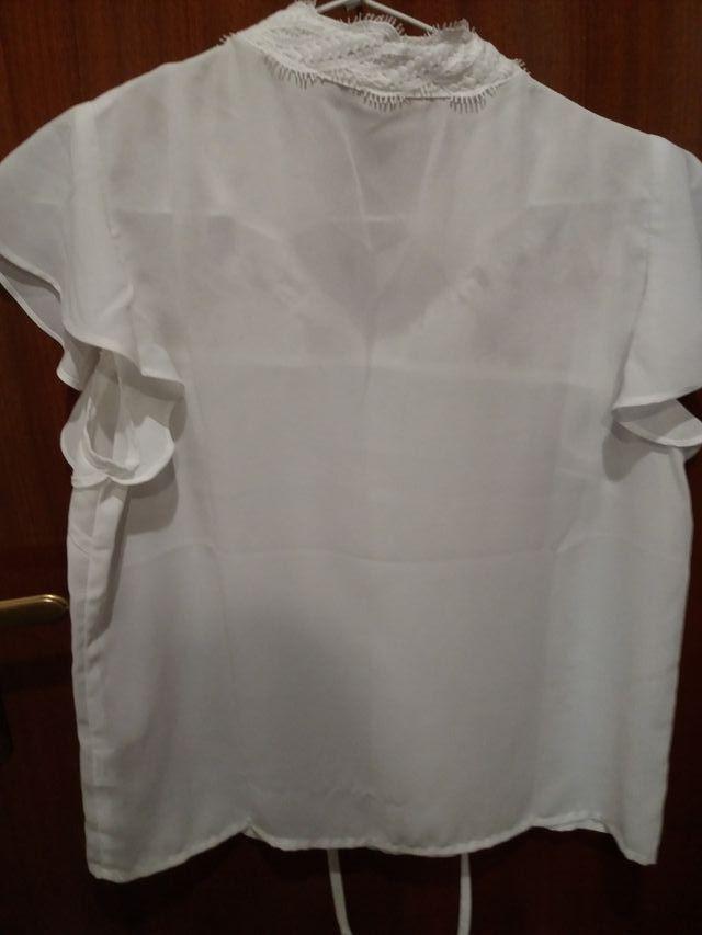 blusa talla S encaje