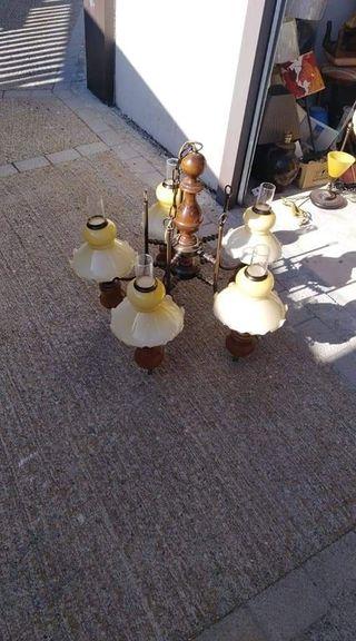 lampara de resto de tienda
