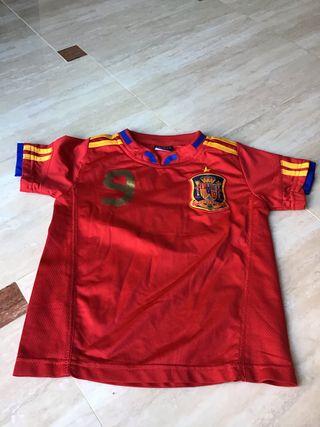 Camisetas de fútbol de la selección española