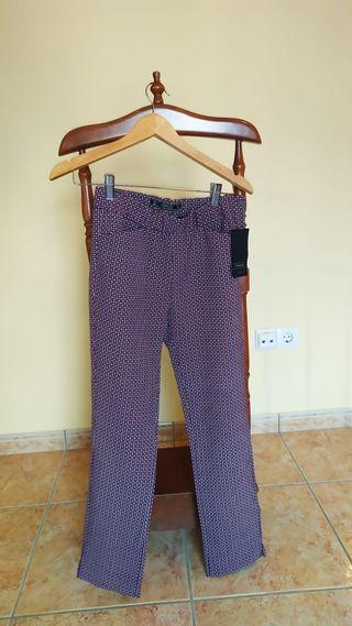 Pantalones traje Zara