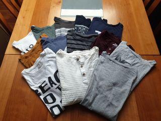 13 camisetas niño manga larga