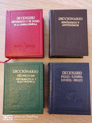 colección mini diccionarios