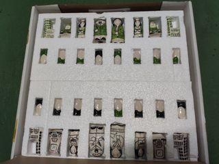 Ajedrez Antiguo Cerámica
