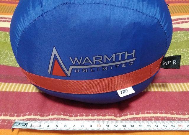 Saco de plumas Warmth Unlimited Pure 400