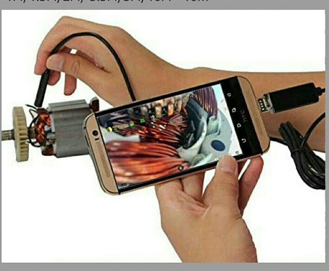 Endoscopio Tuberias Coche 10m Usb/Movil Android