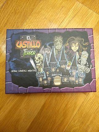 Juego de cartas infantil El castillo del terror