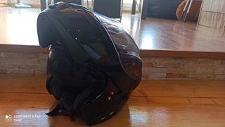 casco de moto mt