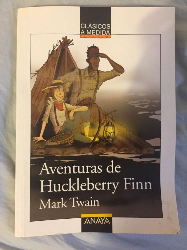 LIBRO AVENTURAS DE HUCKELBERRY FINN