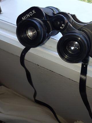 prismaticos antiguos marca minox