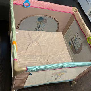 parque infantil o cuna viaje+colchón adicional