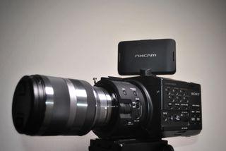 Videocámara Sony NEX-FS100 + accesorios