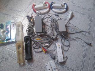 lote cables wii originales