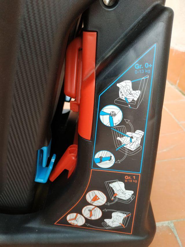 Silla Auto Chicco Black Label Grupo 0/1