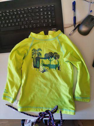 camiseta térmica decathlon talla 1