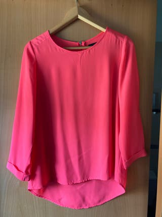 Blusa rosa fluor talla 38