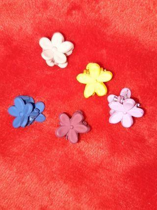 pinzas de flores