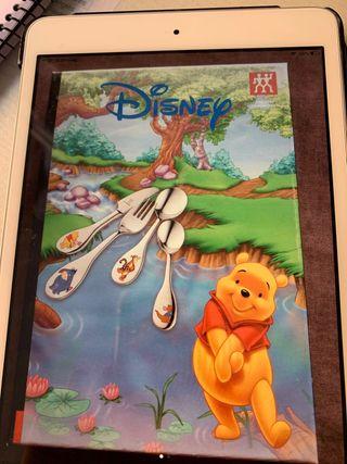 Cubiertos infantiles Disney