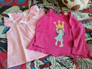 Jersey y camisa Eva Castro