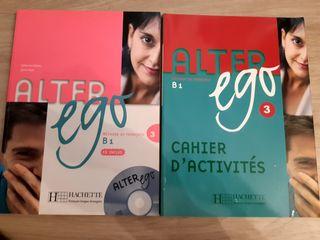 2 libros francés ALTER EGO B1