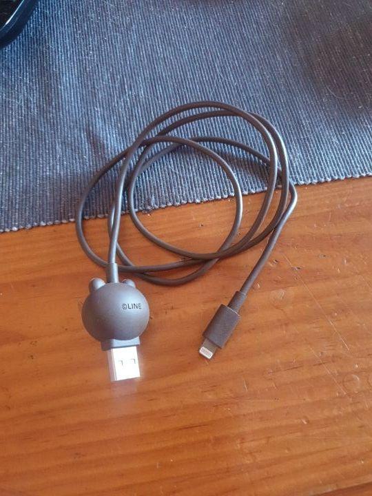 cargador de iphone osito line