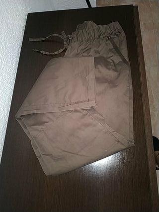 Pantalón mujer marron