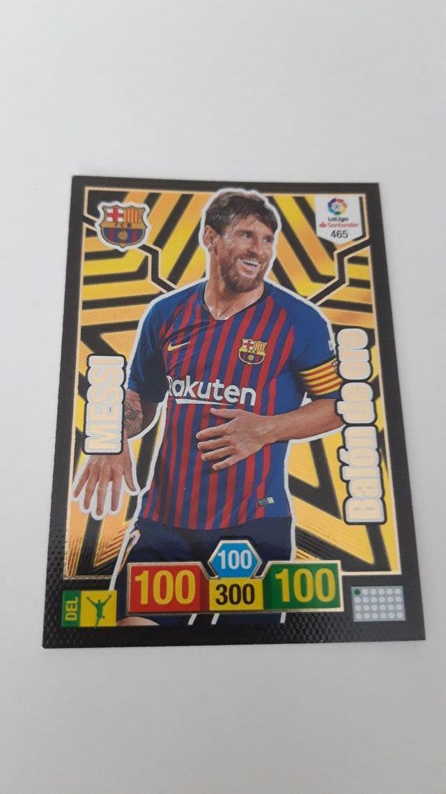 Messi Balón Oro. Adrenalyn '19