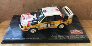 Audi Quattro Röhrl Montecarlo Ixo 1/43