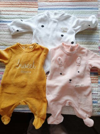 pijamas bebe 1 mes