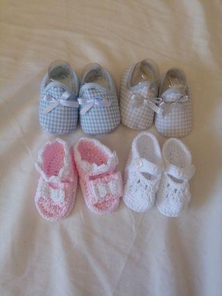 lote zapatos bebé