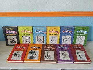 colección libros Diario de Greg