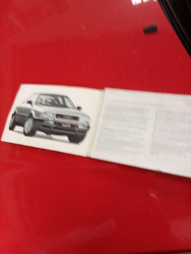 manual usuario Audi 80 s2