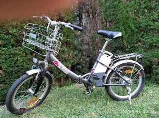 Bicicleta eléctrica City mover