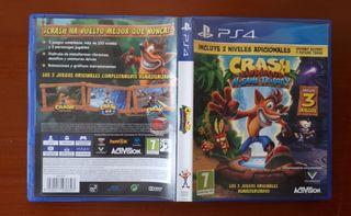 Videojuego Crash Bandicoot N Sane Trilogy PS4.