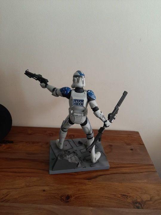 Star Wars clone trooper 501 kotobukiya