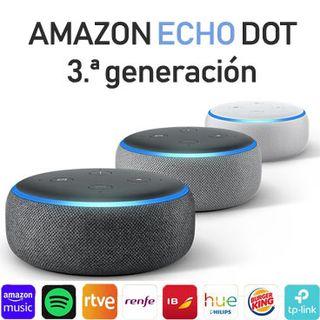 Alexa echo dot 3 generación