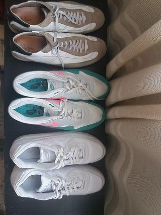 3 pares de bambas Air Nike