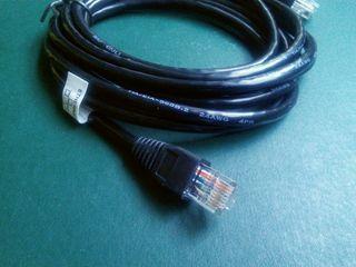 Cable Ethernet ficha RJ45 > conexion internet
