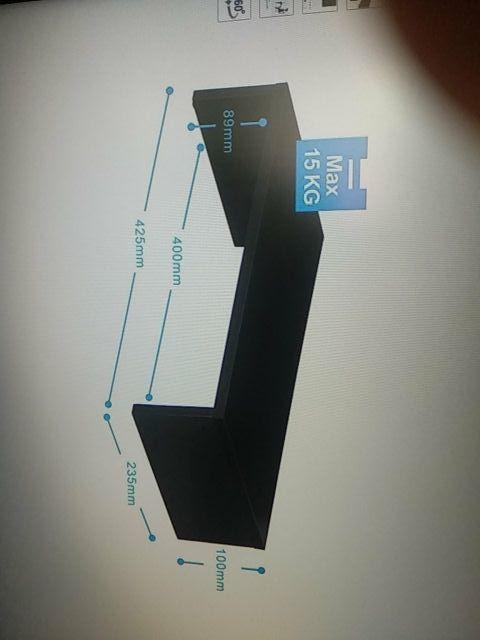 Elevador monitor de madera sin estrenar