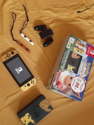 Nintendo Switch Pokemon Edition + 2 juegos