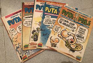 Revista Puta Mili - números antiguos