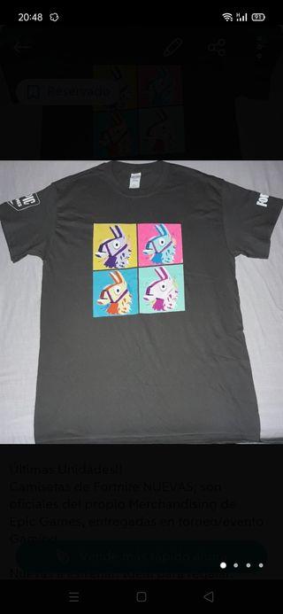 Camisetas FORTNITE NUEVAS. Varias Tallas.