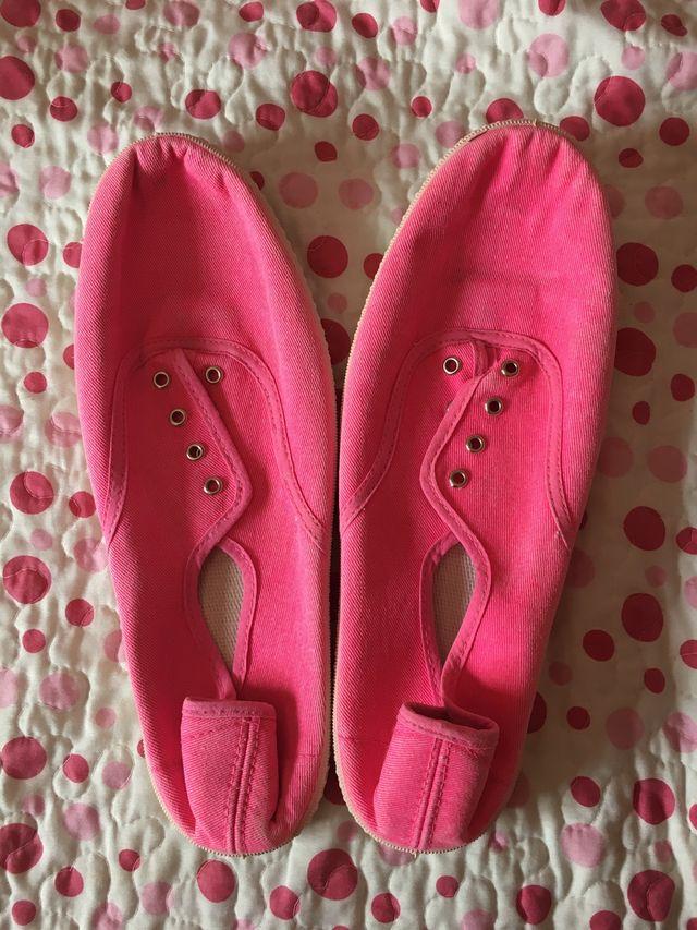 Zapatillas rosas talla 40